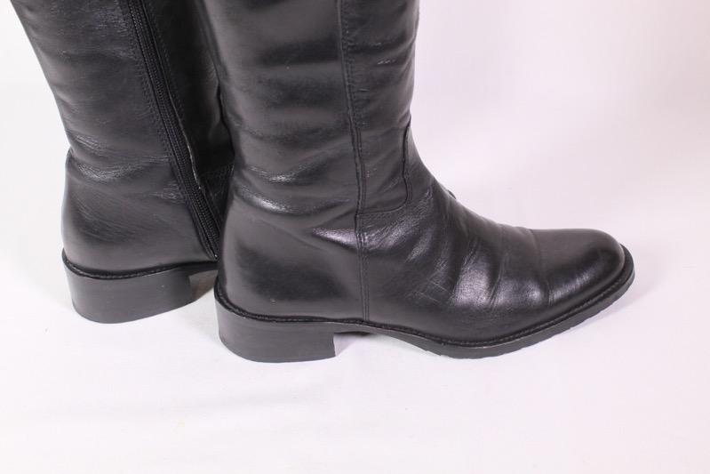 2S Filli Romano Stiefel Leder schwarz braun Gr. 37