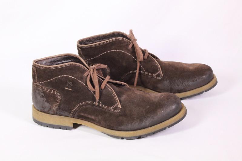 on feet at great deals presenting 8H Josef Seibel Herren Schnürstiefel Desert Boots Schuhe Leder braun Gr. 46  | eBay