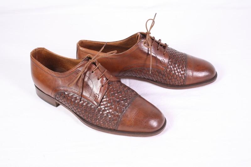 sale retailer 72495 6a300 ungetragen 40,5 Herren Derby Schnürschuhe Business Schuhe ...