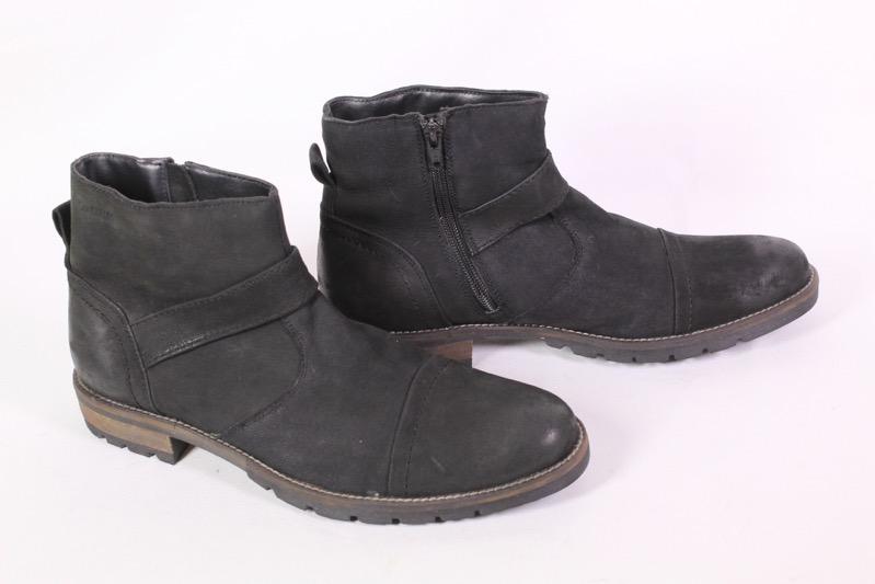 Leder Carlos Schwarz Boots Herren Schuhe 8h UngetragenEbay Stiefeletten Gr42 Don OukXTPiZ