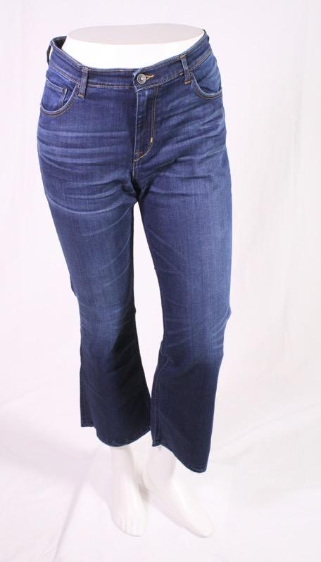 wie man wählt super beliebt 2020 Details zu GJ17-71 H&M Kick Flare Damen Jeans blau W32 L26 High Waist  Stretch NEU