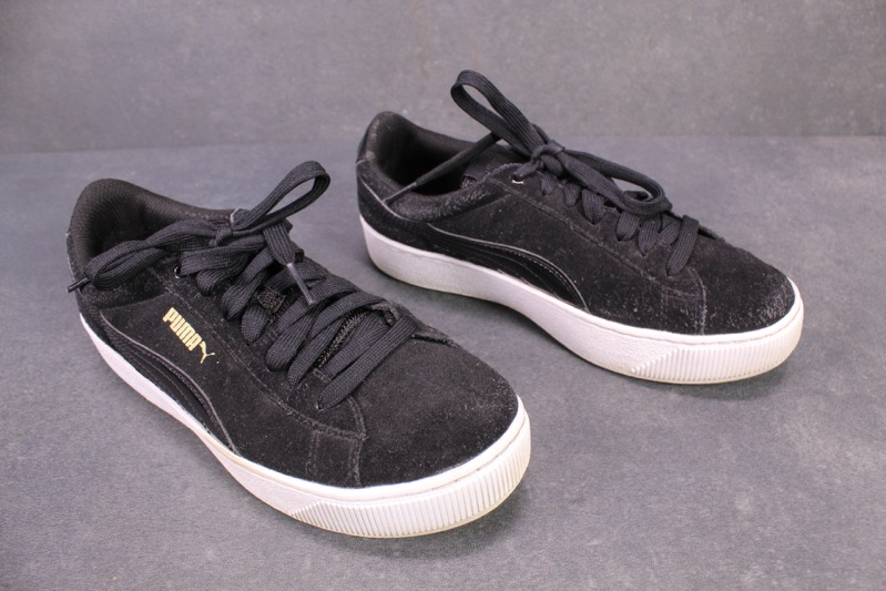 SB42 Puma Vikky Platform Plateau Damen Sneaker Gr. 37