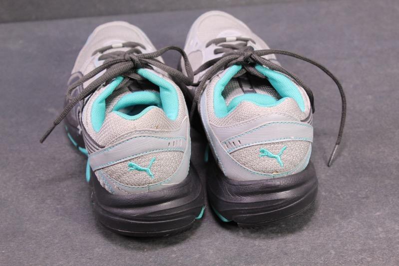 SB132 Puma Axis Trail Tr Running Damen Sneaker Gr. 38,5 grau