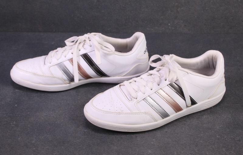 SB292 Adidas Hoops VL Damen Low-Top Sneaker Sportschuhe Gr ...