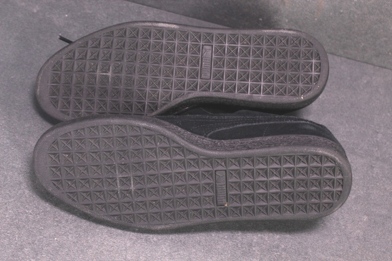 Details zu SB21 Puma Basket Suede Heart Sneaker Sportschuhe schwarz Leder Gr. 41