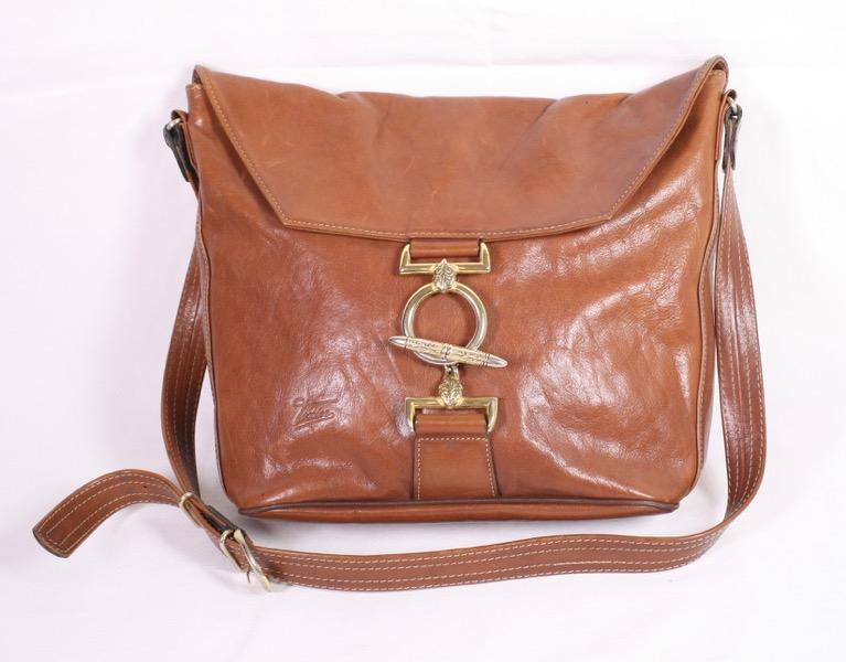 9c460c2c477c9 B12 Texier Tasche Shopper Beutel Bucket Bag Leder braun Schultertasche Boho